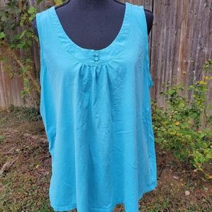 Sonoma Tops - Blue Tank Top